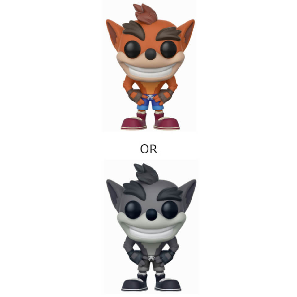 Crash Bandicoot Pop Vinyl Figure Pop In A Box Us