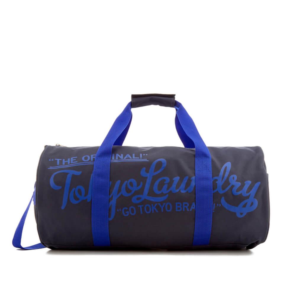Bolsa de deporte Tokyo Laundry - Hombre - Gris oscuro/azul