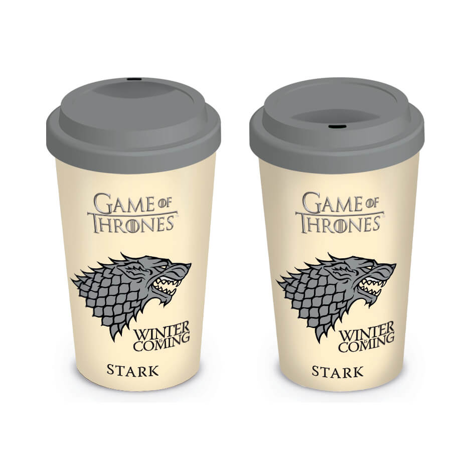 Game of Thrones House Stark Travel Mug