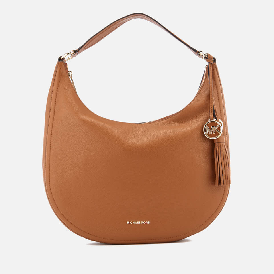 b701a5b64581 MICHAEL MICHAEL KORS Women's Lydia Large Hobo Bag - Acorn - Free UK  Delivery over £50
