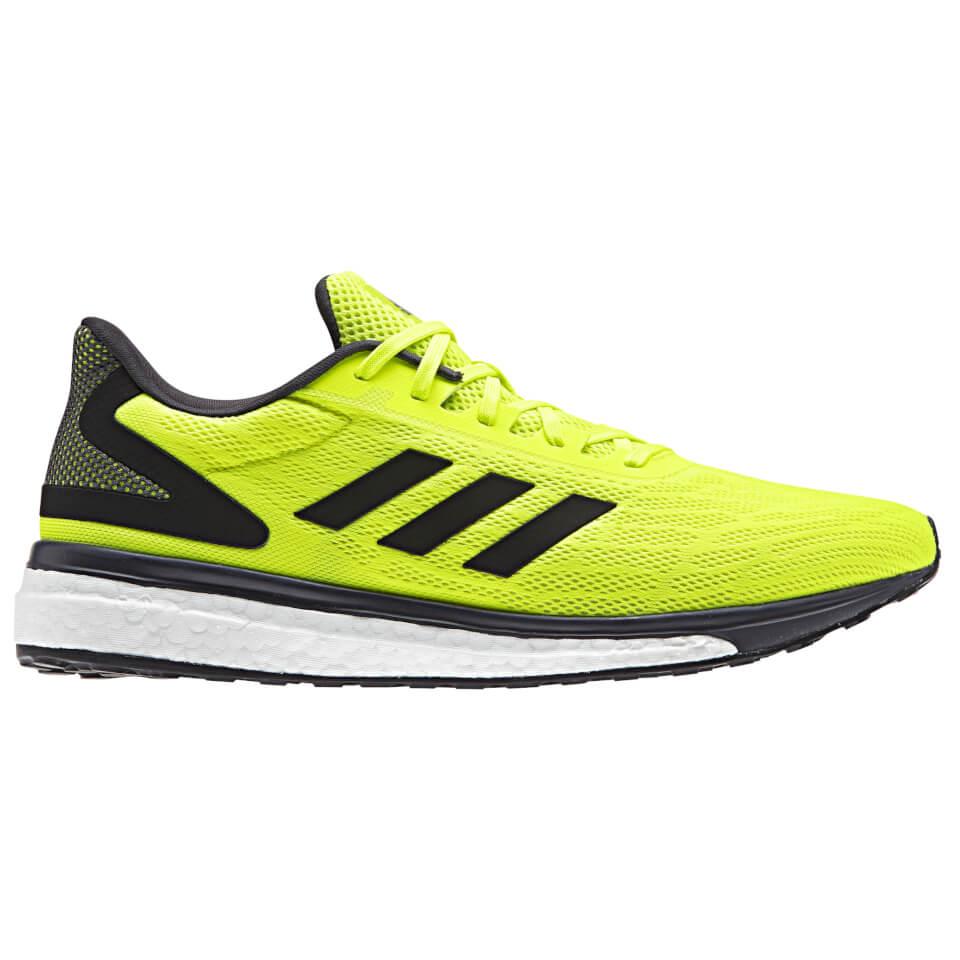 adidas-men-response-light-running-shoes-yellow-us-85-8-yellow