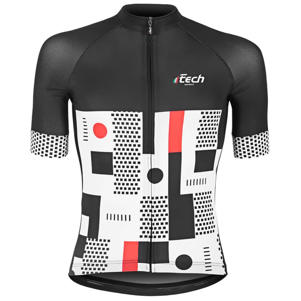 ftech-urban-race-short-sleeve-jersey-xl-black-white-red