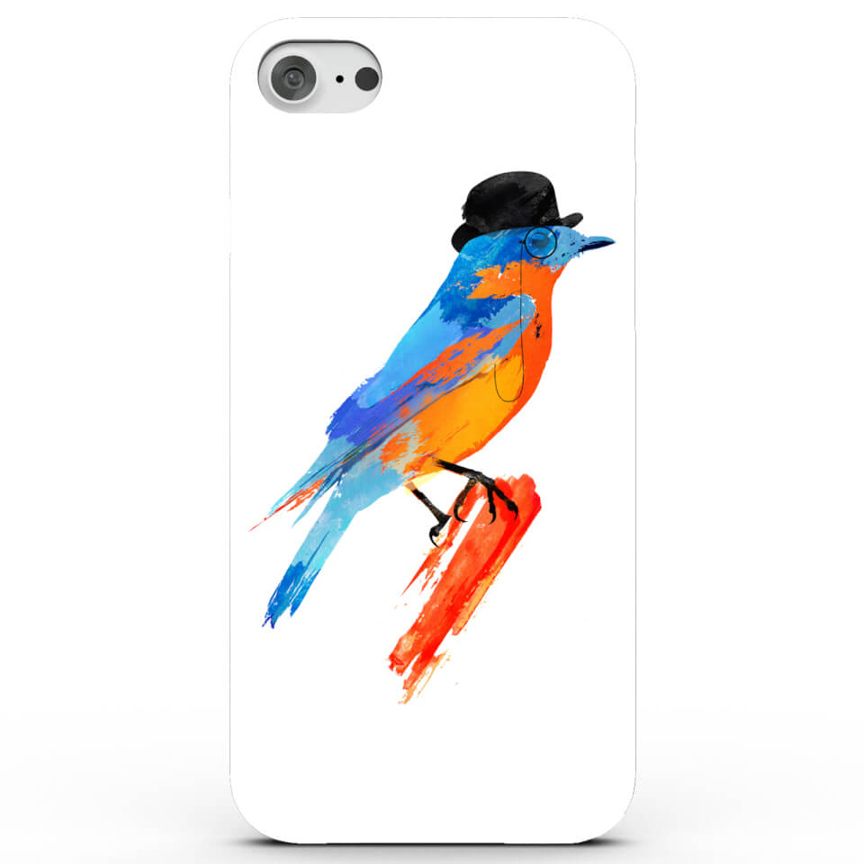 Lord Bird Phone Case for iPhone & Android - 4 Colours - Samsung Galaxy S7 - Black