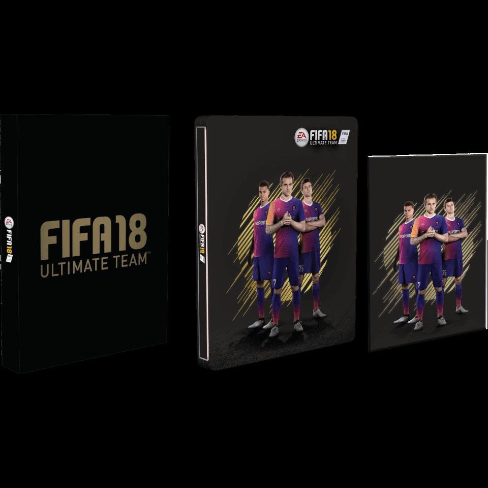 FIFA 18 UK Exclusive Steelbook