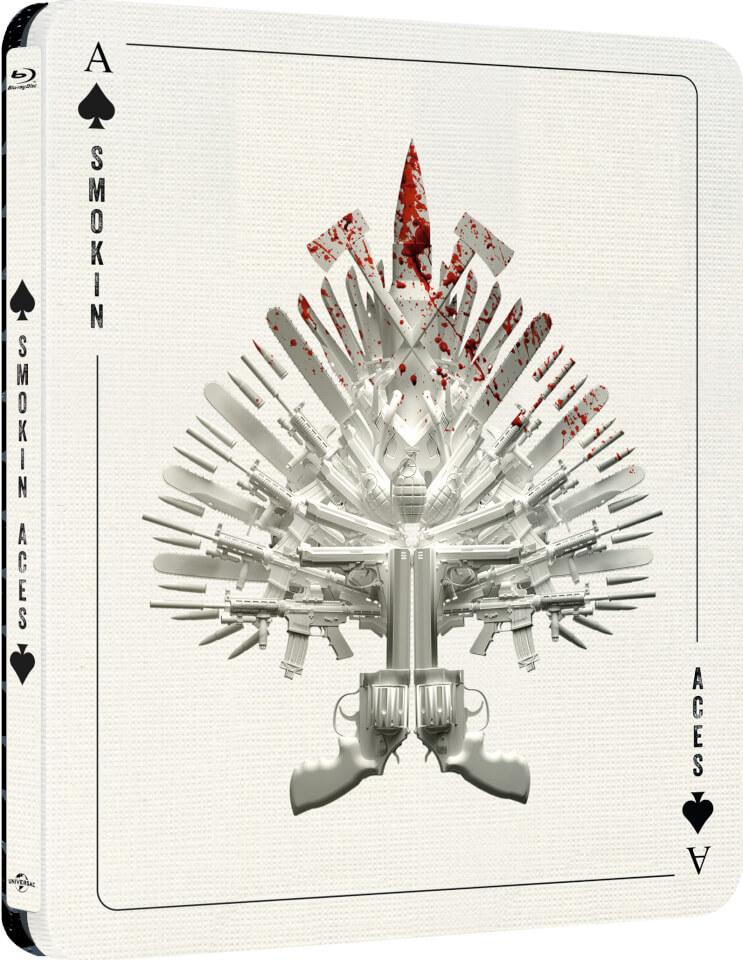 Ases Calientes - Steelbook Edición Limitada Exclusivo de Zavvi