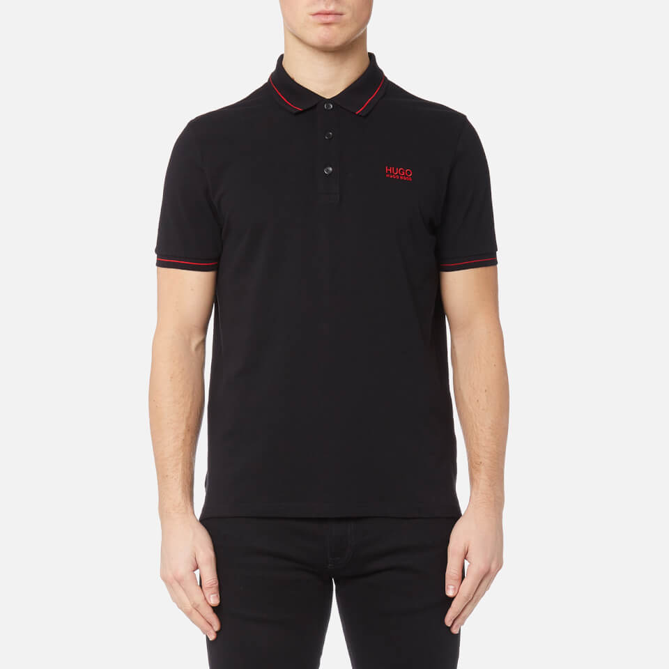 acd77c66239 HUGO Men s Daruso Polo Shirt - Black - Free UK Delivery over £50