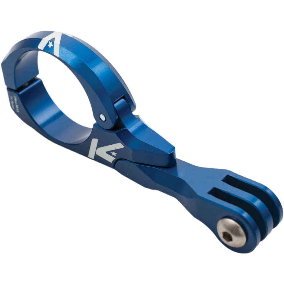K-Edge Go Big Pro Handlebar Mount - 31.8mm - Blue