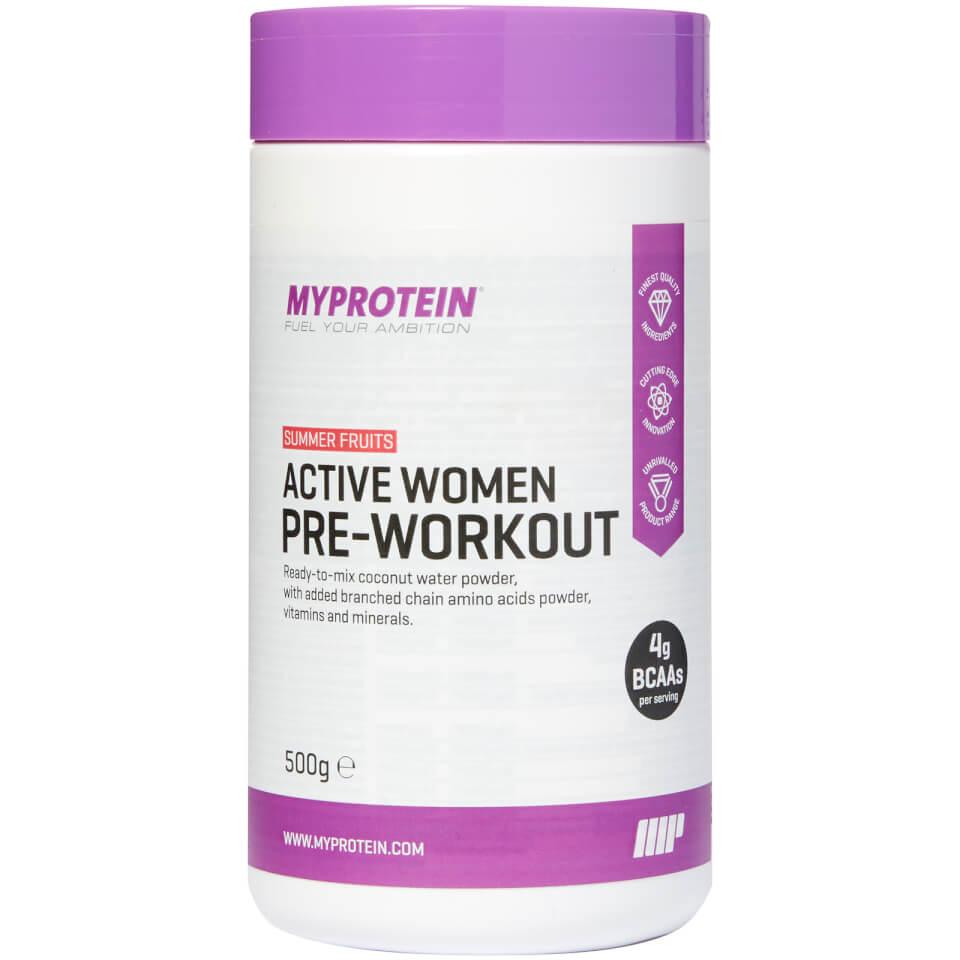 Pre-entrenamiento Active Women™ - 500g - Peach Tea