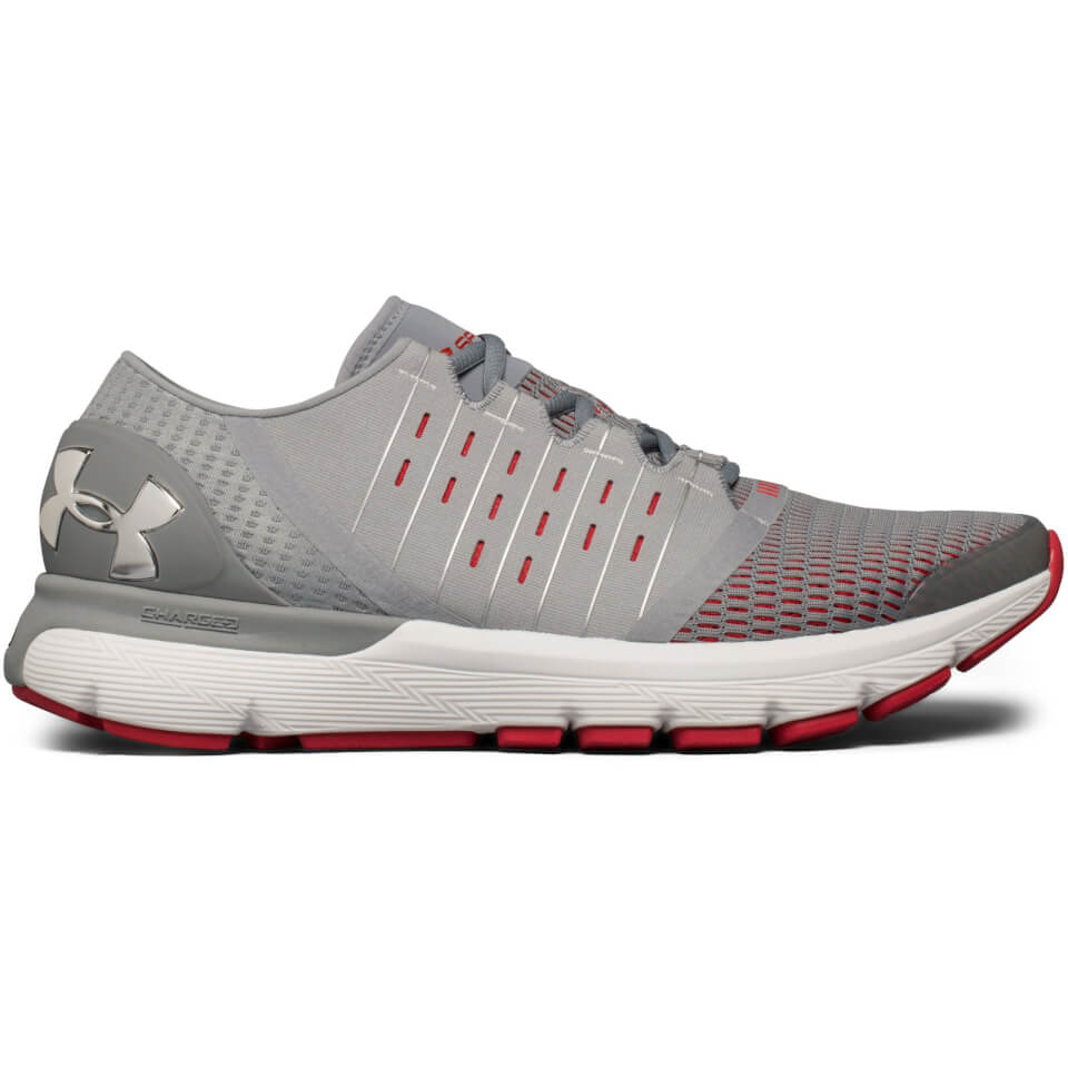 Under Armour Men's SpeedForm Europa Running Shoes - Grey - US 11.5/UK 10.5