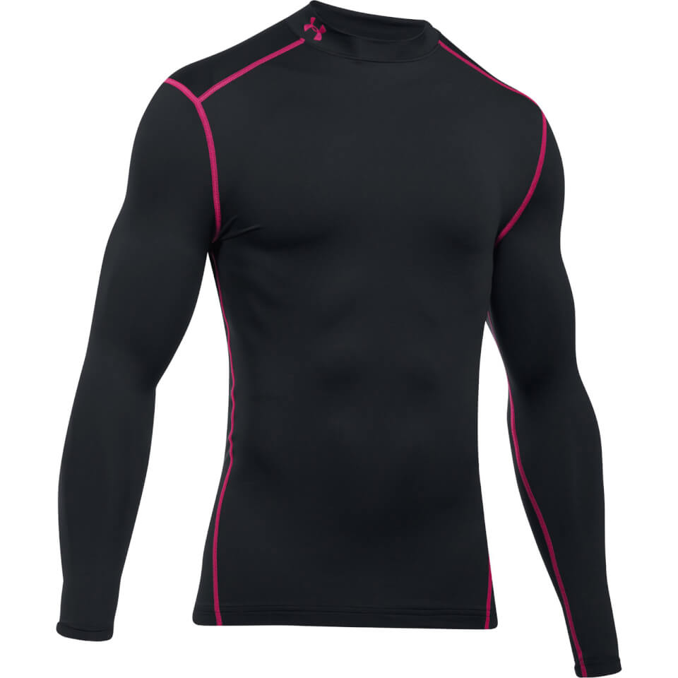 under-armour-men-cold-gear-armour-long-sleeve-compression-top-black-red-xl-black-red