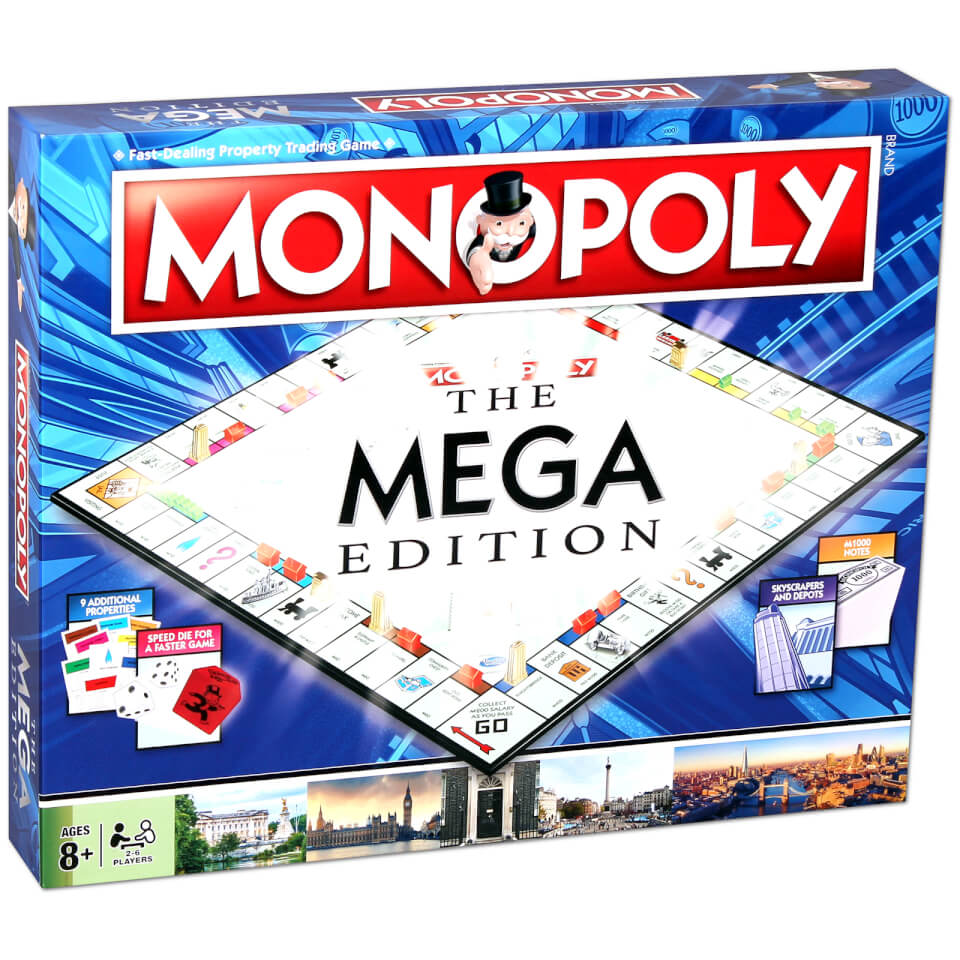 Mega Monopoly Toys Zavvi