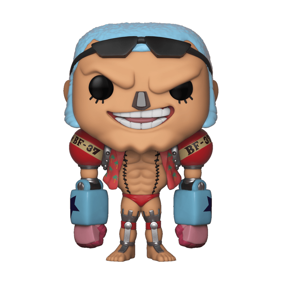 One Piece Franky Pop Vinyl Figure Pop In A Box Us