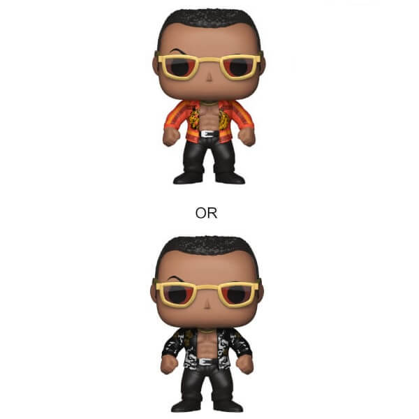 WWE The Rock Old School Pop! Vinyl Figur