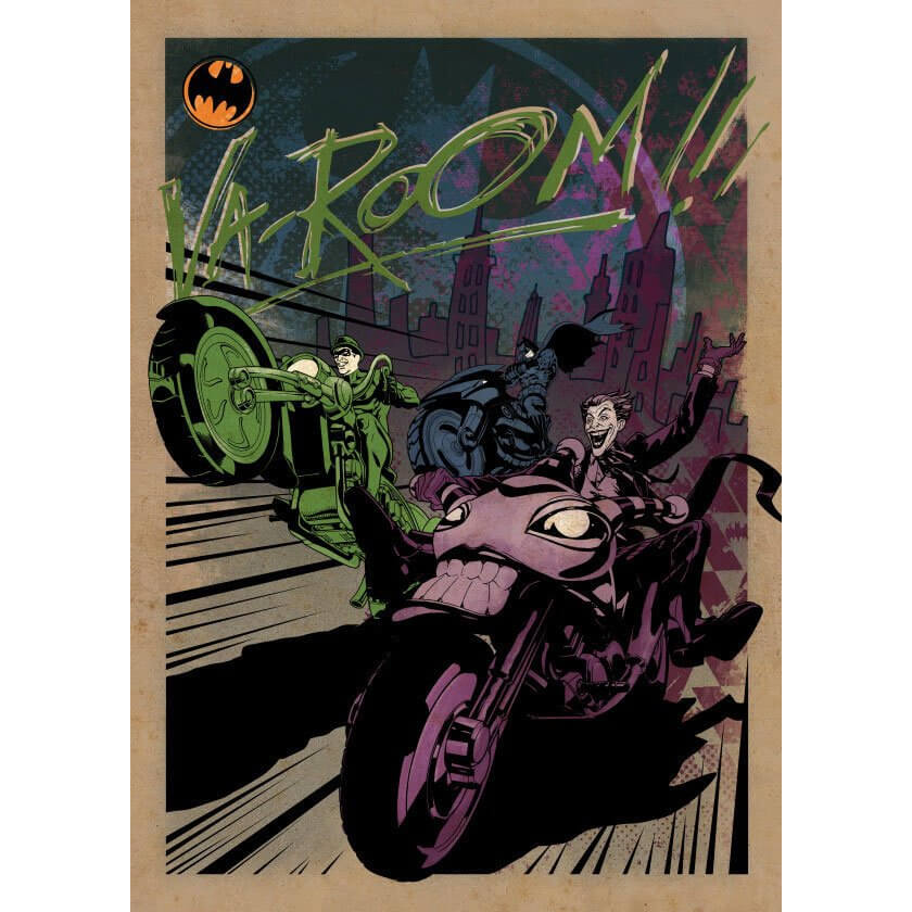 Tin PostersDC Comics Metal Poster - Gotham City Motor Club Gotham City MC(32 x 45cm )