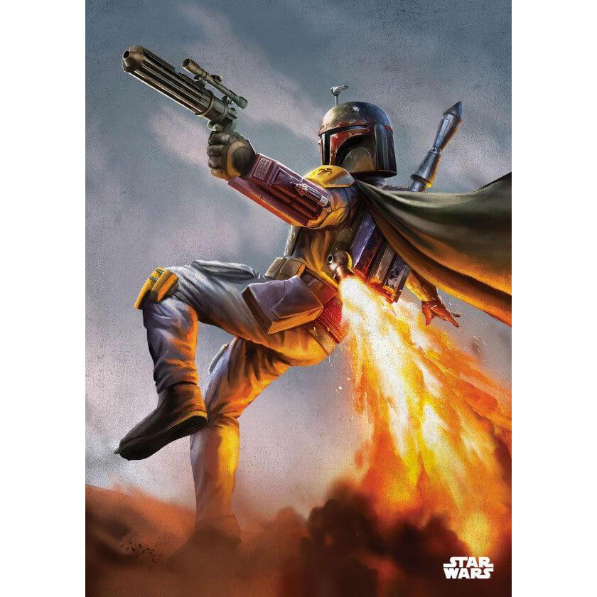 Tin PostersStar Wars Metal Poster - Episode IV Boba Fett(68 x 48cm )