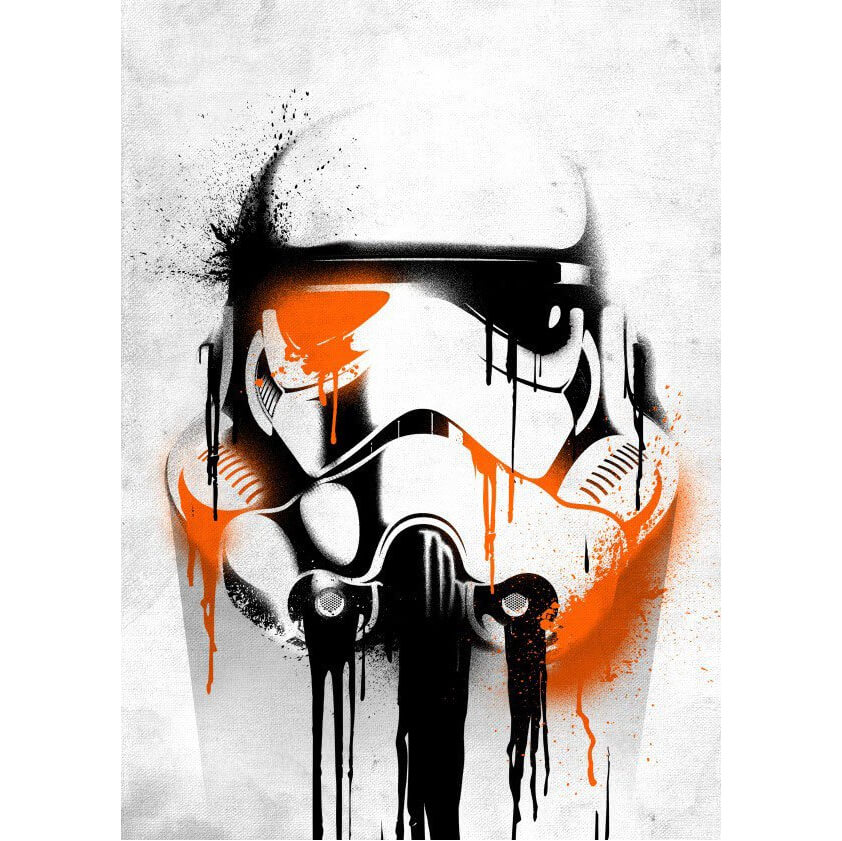 Tin PostersStar Wars Metal Poster - Masked Troopers Banksy(68 x 48cm )
