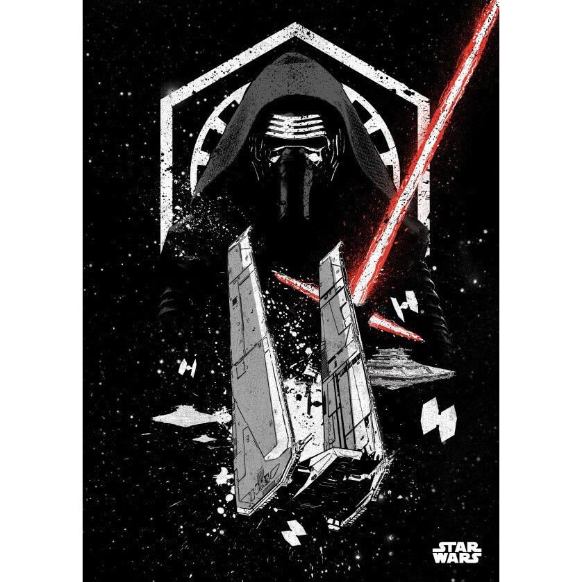 Tin PostersStar Wars Metal Poster - Star Wars Pilots Kylo Ren(68 x 48cm )