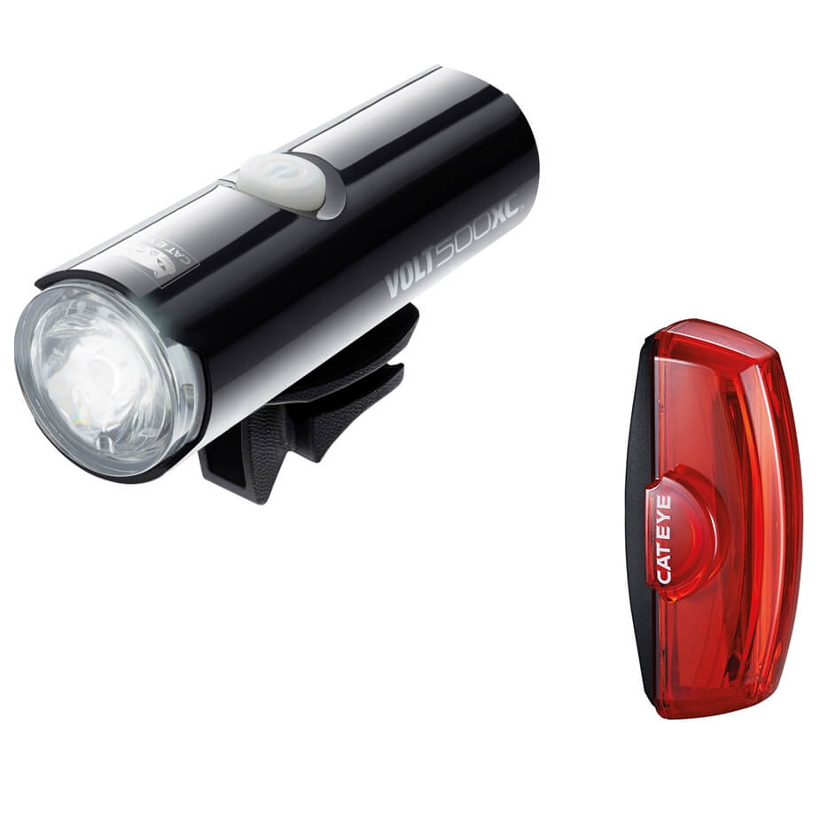 cateye-volt-xc-front-rapid-x2-rear-light-set