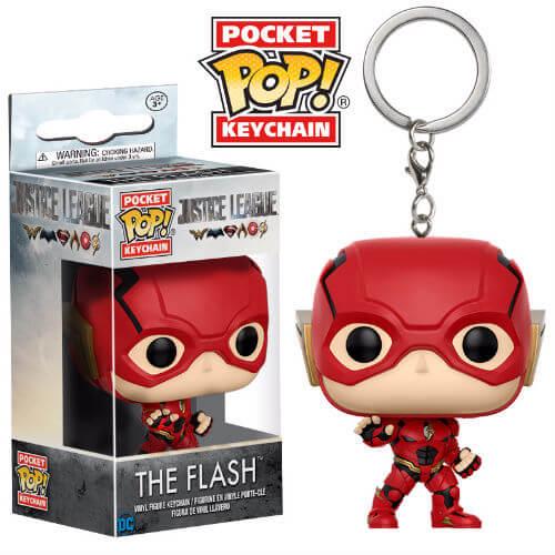 Justice League The Flash Pop! Schlüsselanhänger