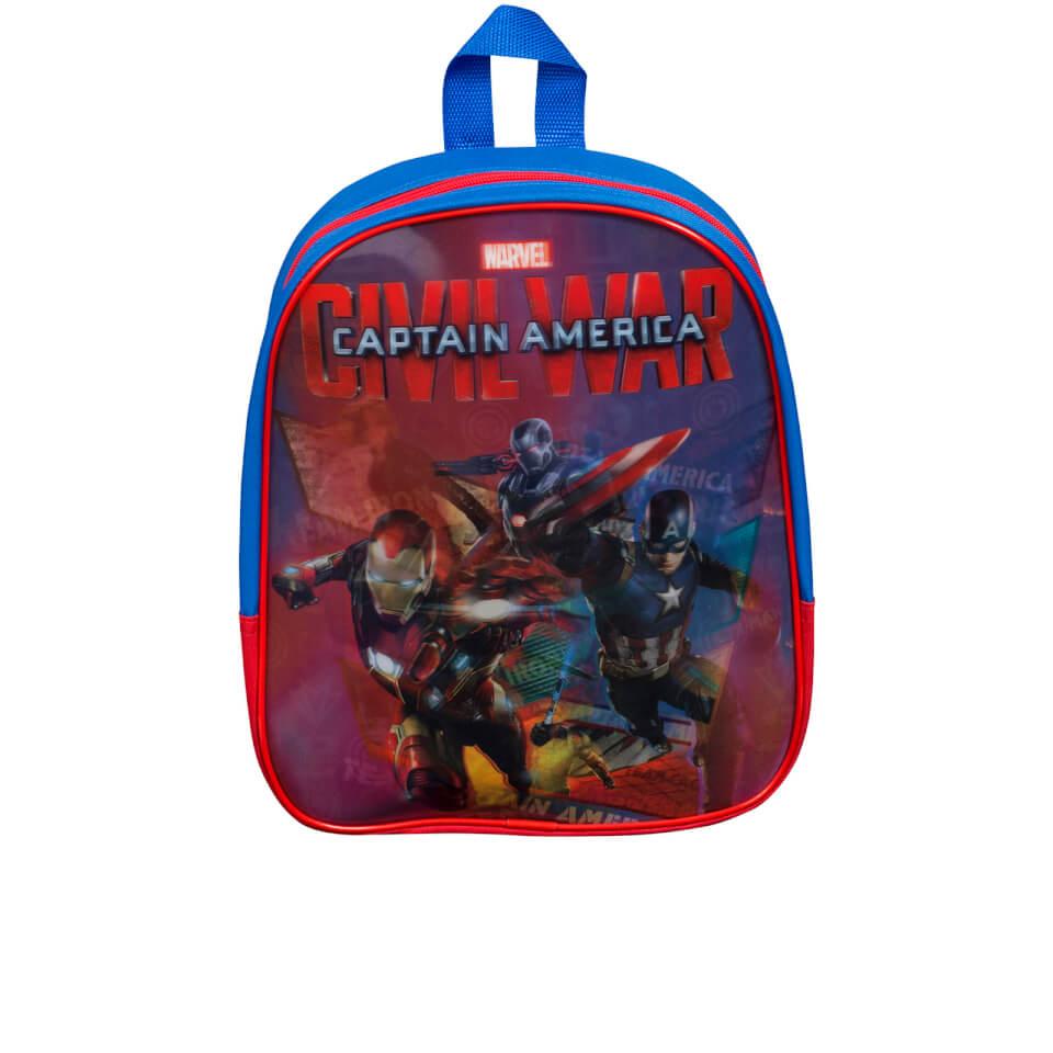 Marvel Captain America Lenticular Rucksack Blau