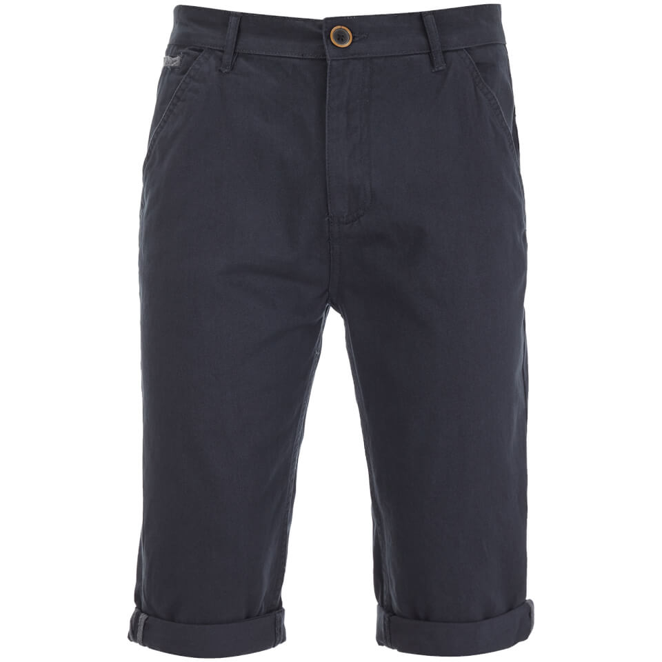 Brave Soul Men's Anderson Shorts - Navy - W30 - Azul