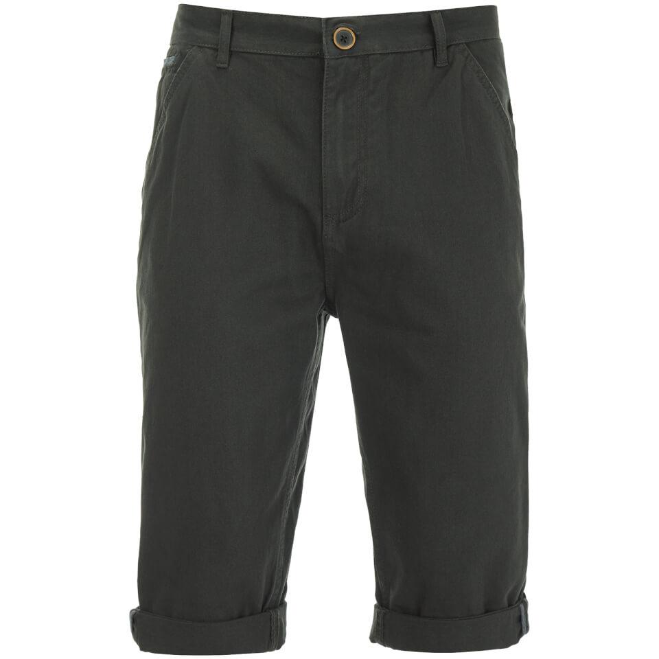 Brave Soul Men's Anderson Shorts - Charcoal - W30 - Gris