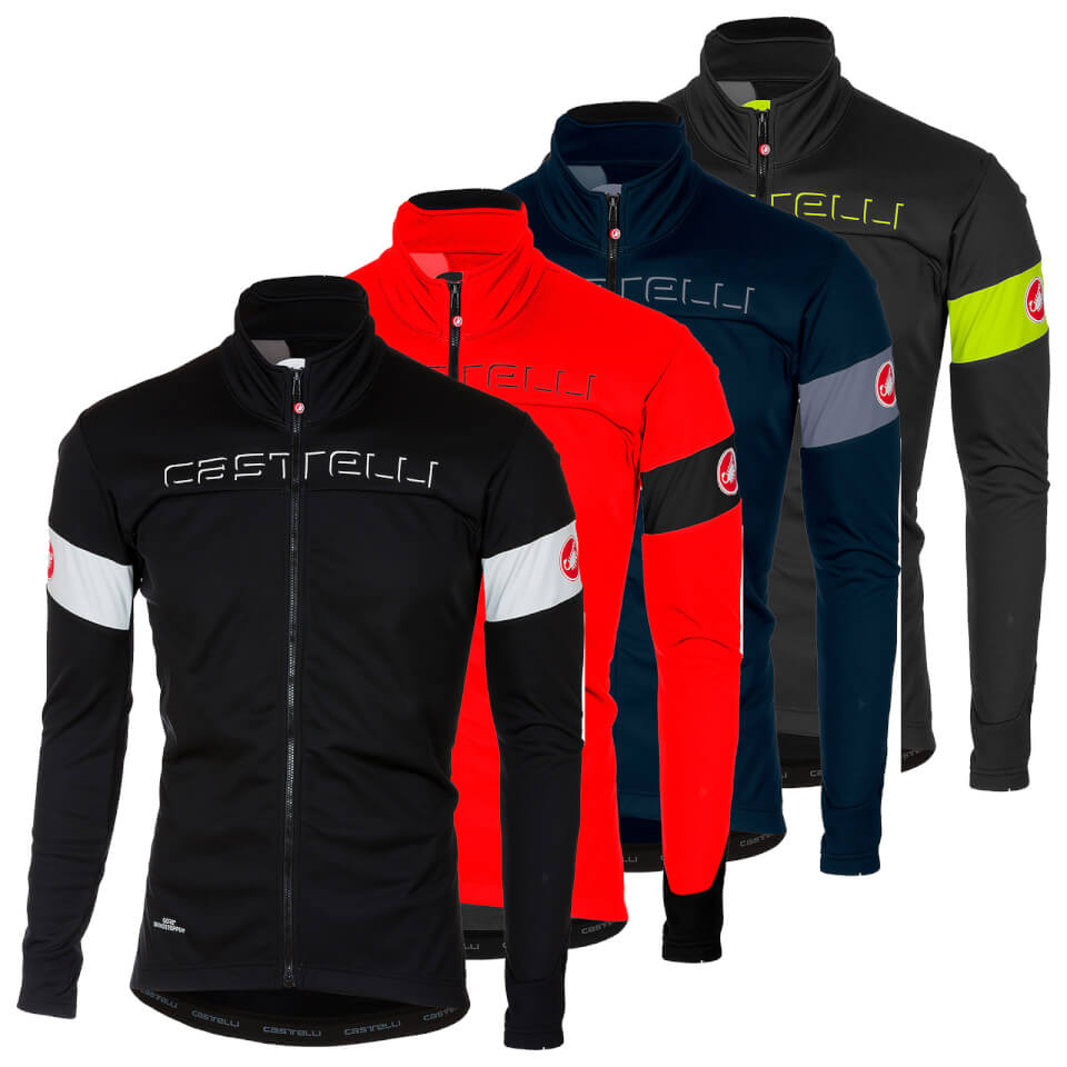CASTELLI TRANSITION JAKKE BLACK/WHITE | Jackets