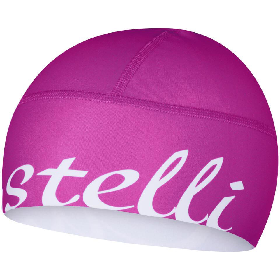 castelli-women-viva-donna-skully-pink