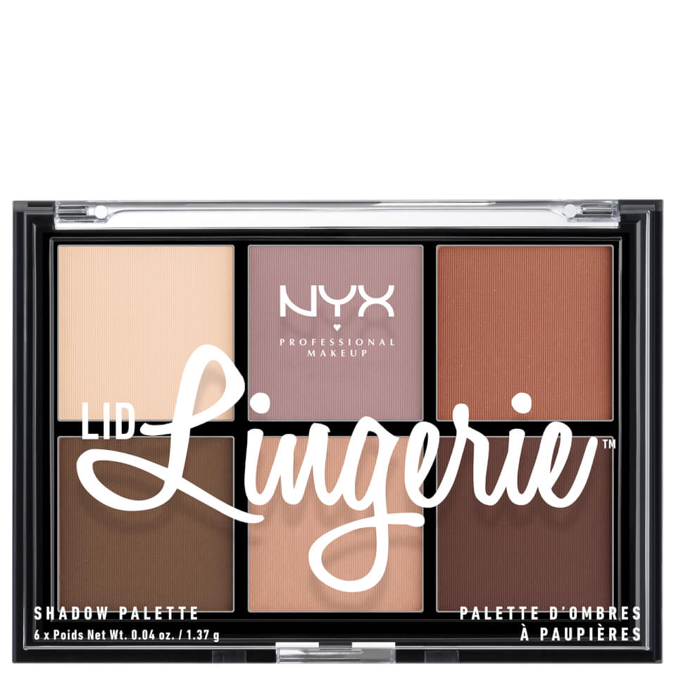 NYX Professional Makeup Lidschatten  Lidschattenpalette