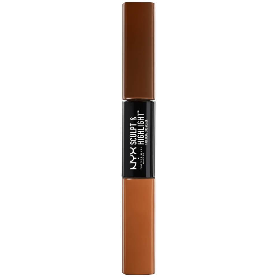 NYX Professional Makeup Foundation Espresso/Honey Highlighter 1.0 st