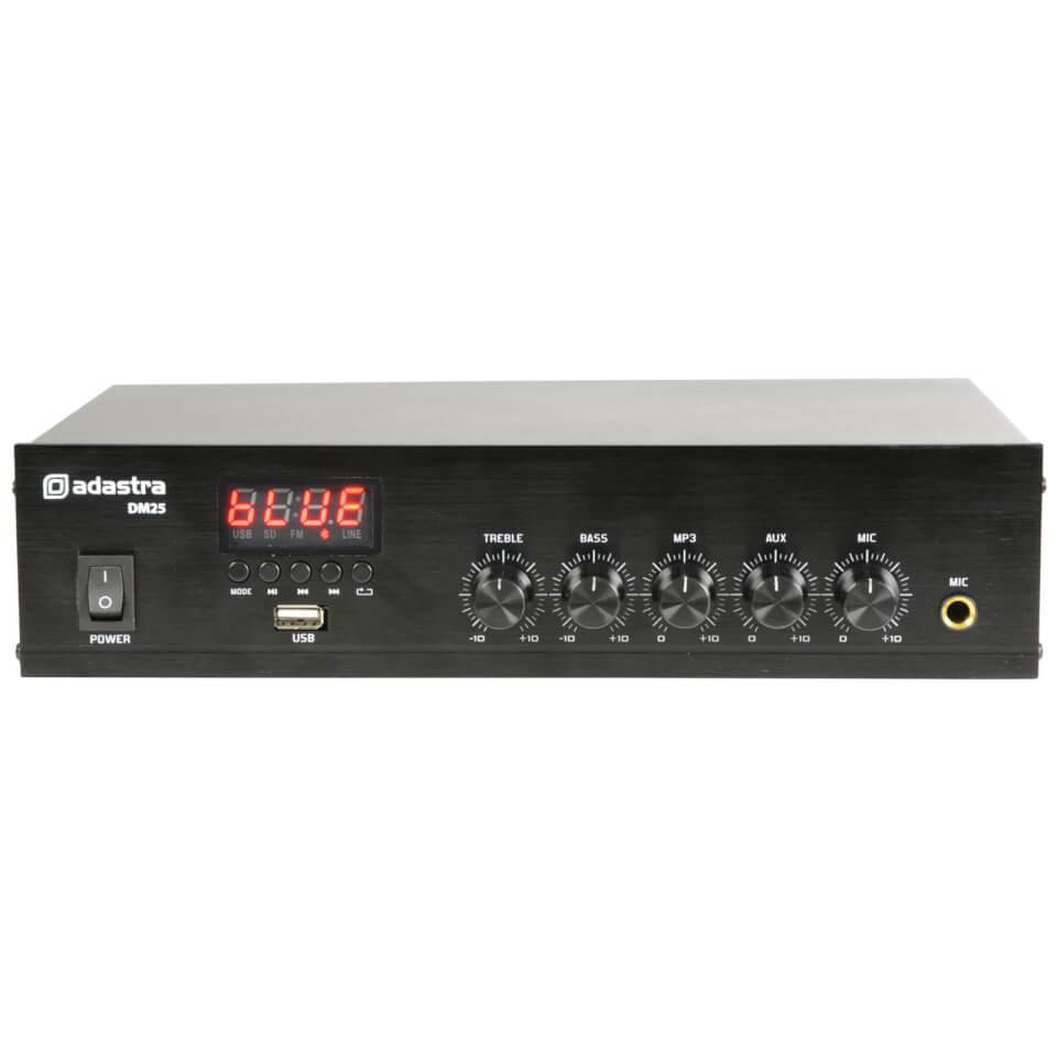 Adastra DM25 Digital 100V 25W Mixer Amplifier