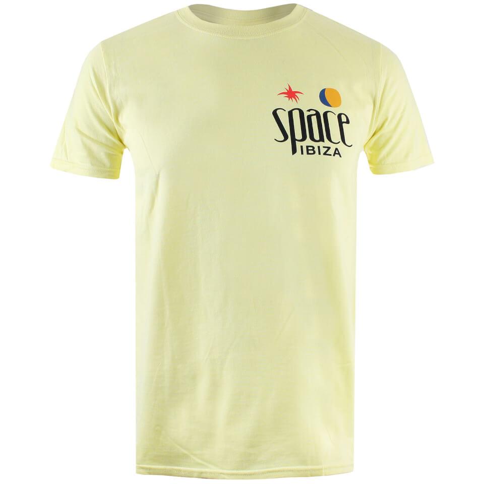 Camiseta Space Ibiza Logo Clásico - Hombre - Amarillo claro - XXL - Amarillo