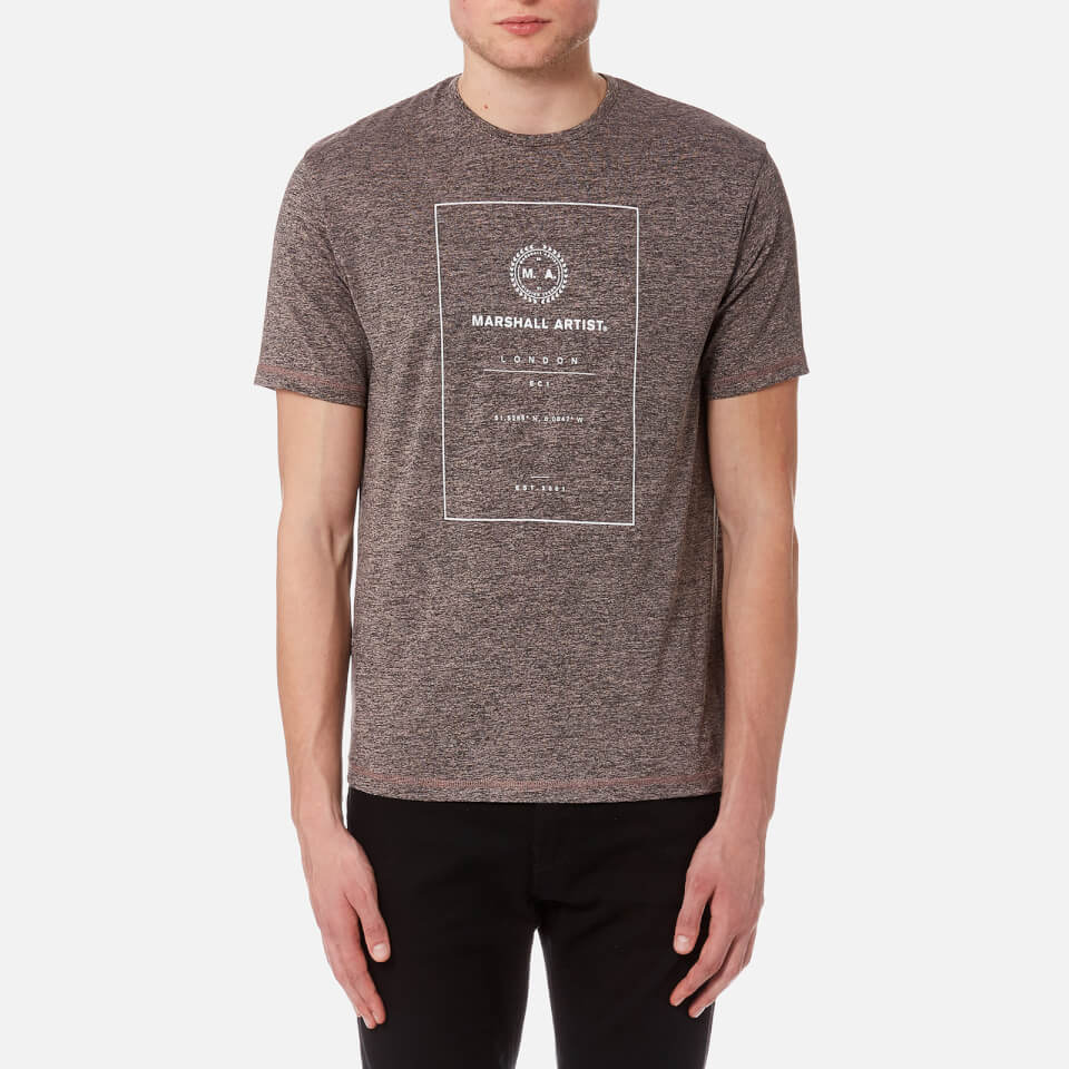 Marshall Artist Men's Co-Ordinate T-Shirt - Rose Gold Clothing | TheHut.com