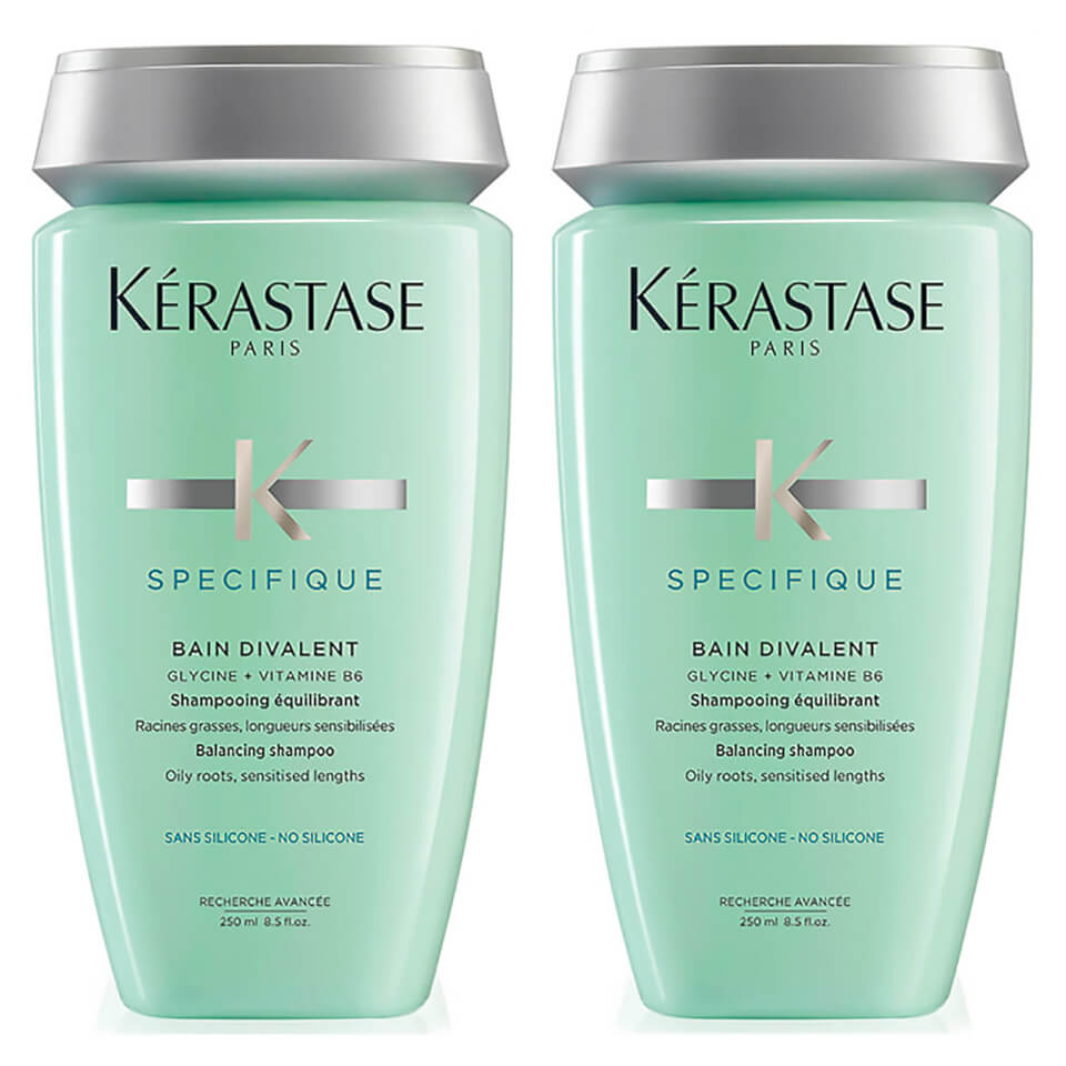 k rastase specifique bain divalent shampoo 250ml duo free shipping lookfantastic. Black Bedroom Furniture Sets. Home Design Ideas