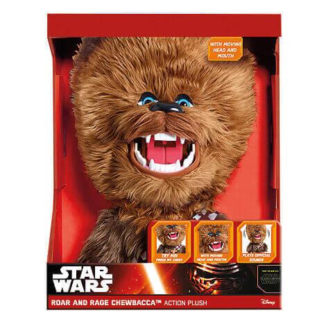 Star Wars Chewbacca sprechendes Plüschtier