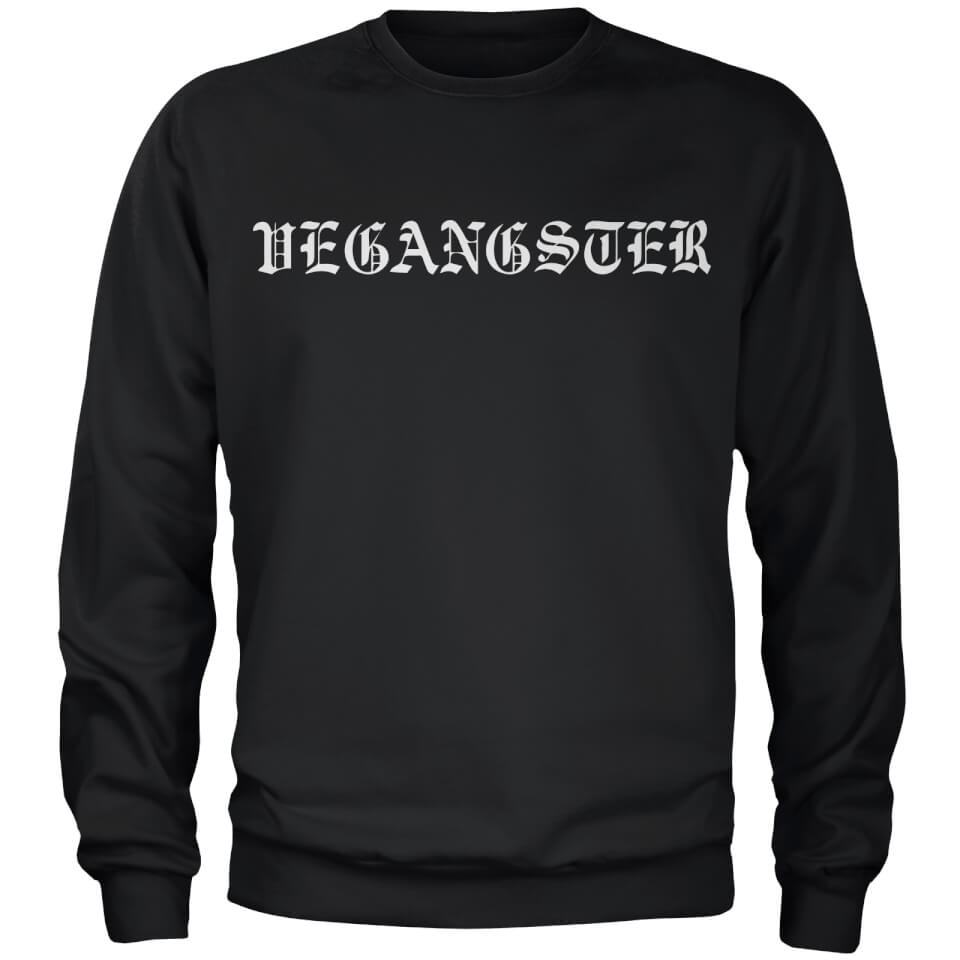 Vegangster Sweatshirt - Black - L - Black