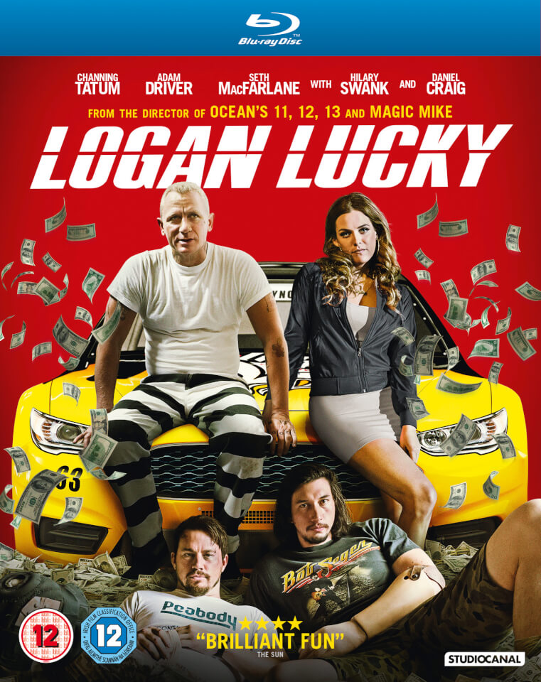 Logan Lucky Blu Ray Zavvi