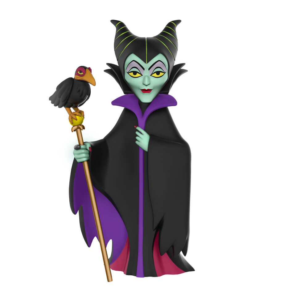 Disney Maleficent Rock Candy Vinyl Figure Merchandise Zavvi