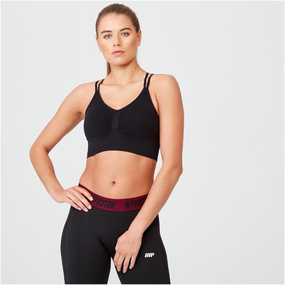 Shape Seamless Sports Bra - Black - S 11539519