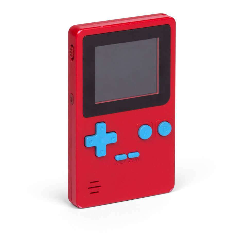 Ausgefallengadgets - ORB Retro Konsole Handheld rot inkl. 152x 8 Bit Spielen - Onlineshop Sowas Will Ich Auch