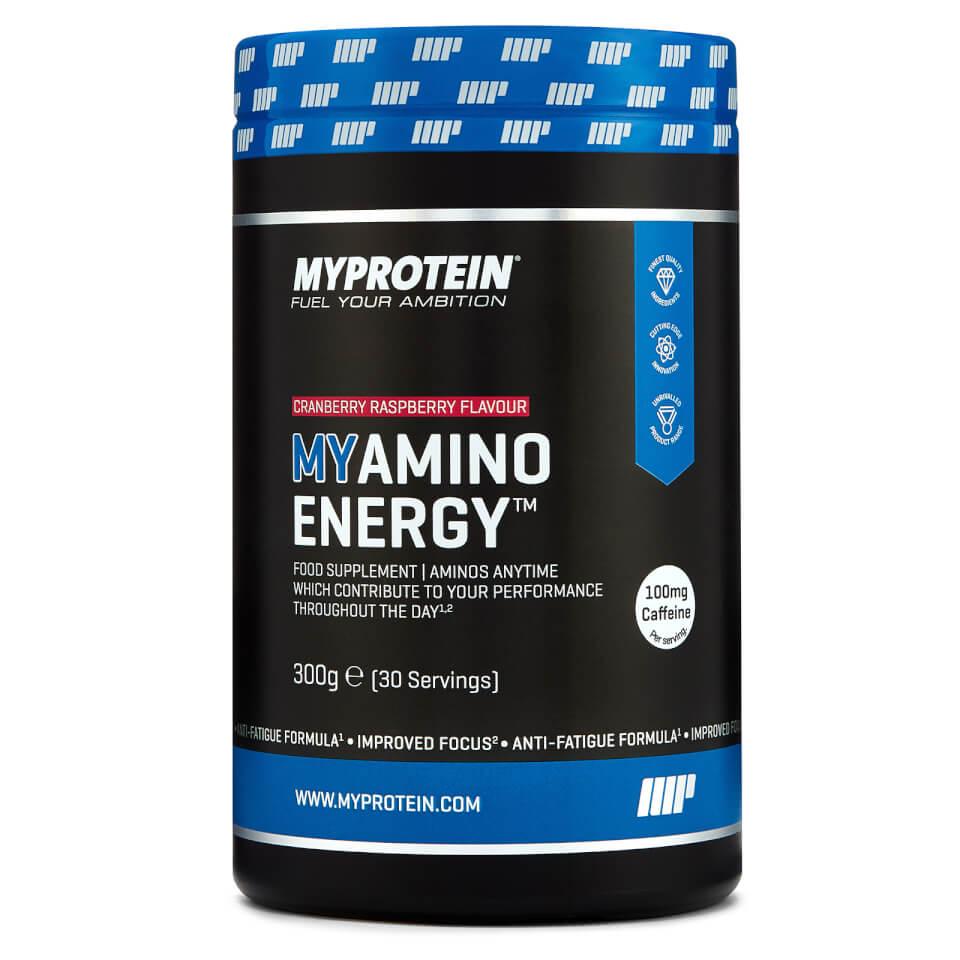 Myamino Energy - 30servings - Bote - Arándano Rojo
