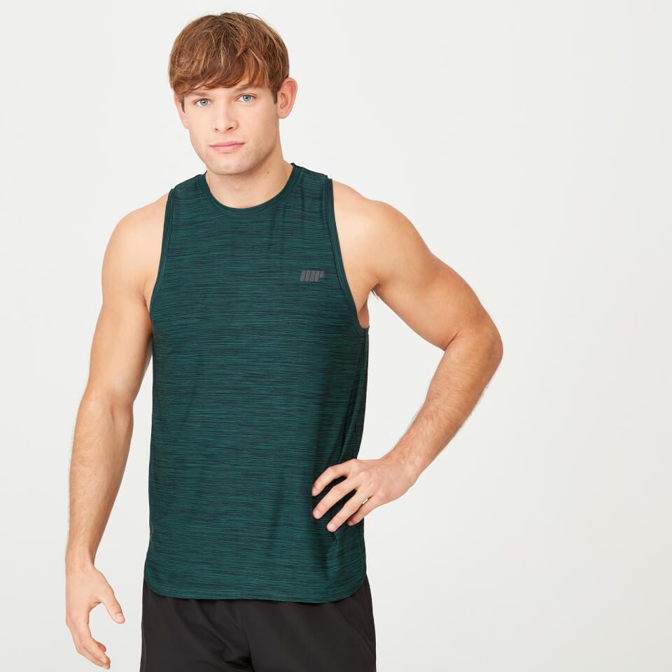 Camiseta de Tirantes Infinity Dry-Tech - L - Dark Green Marl