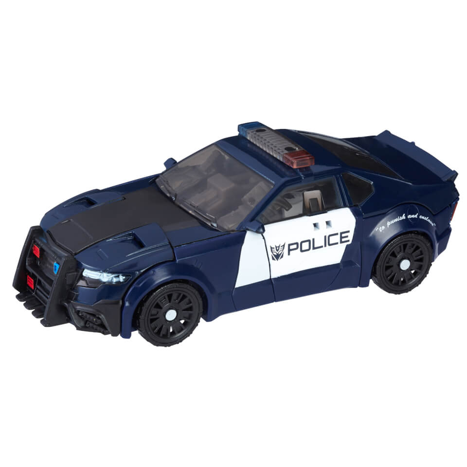 Transformers The Last Knight Premier Edition Barricade Action Figure
