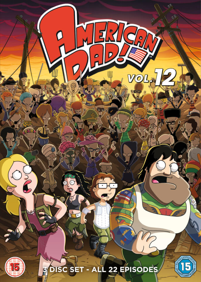 American Dad Volume 12