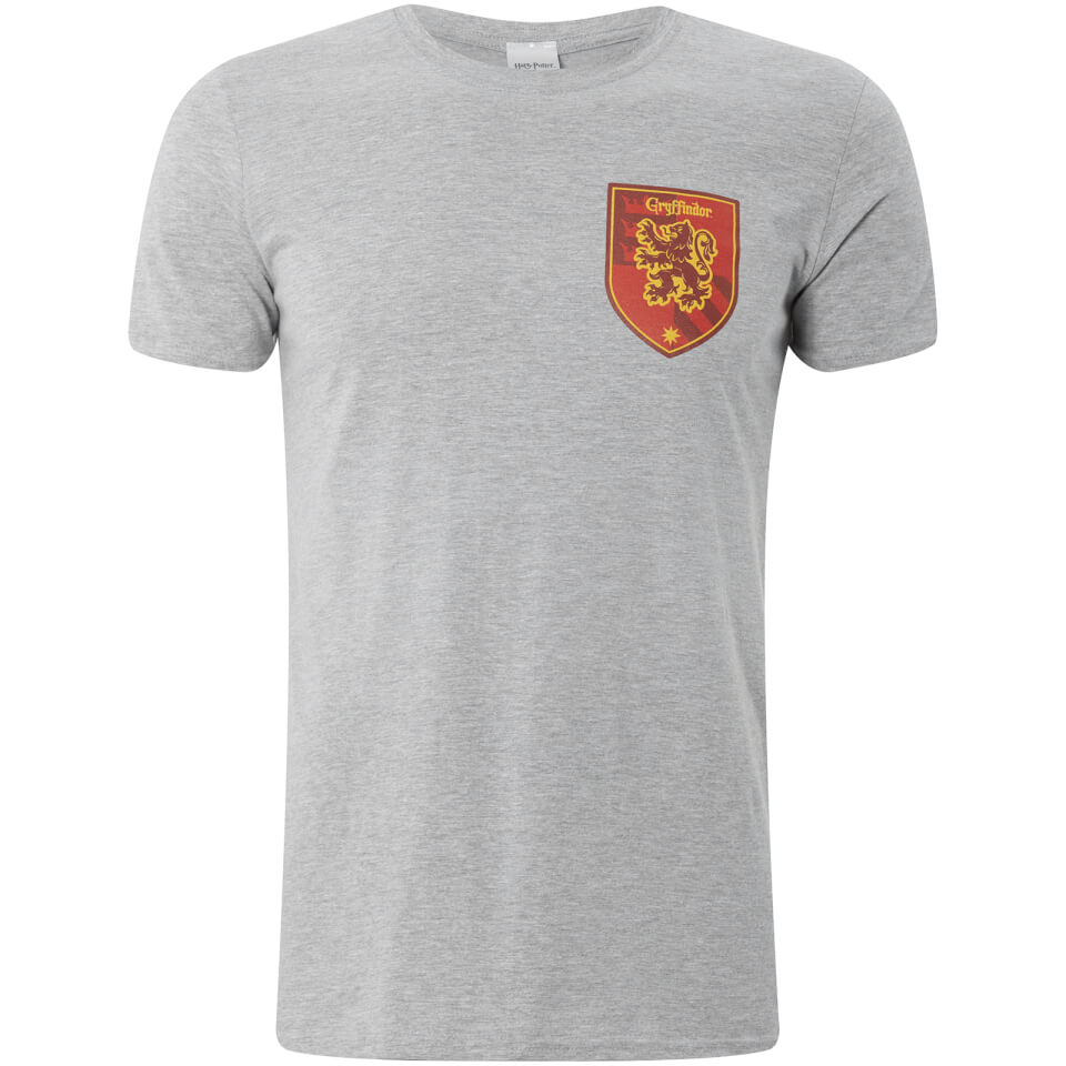 Harry Potter House Gryffindor Männer T Shirt Grau L Grau