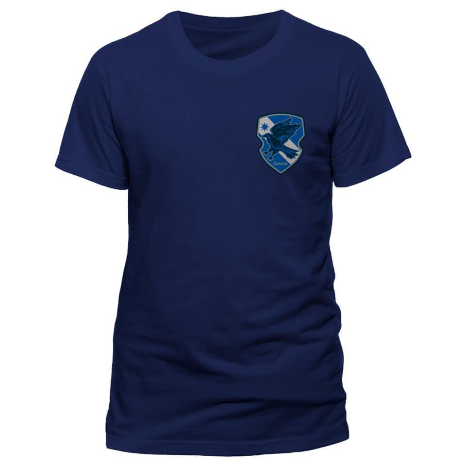 Harry Potter House Ravenclaw Männer T Shirt Blau L Blau