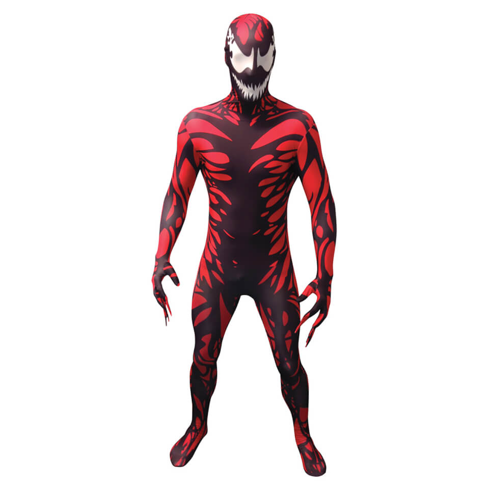 Morphsuit Adults' Marvel Carnage Red M Rot