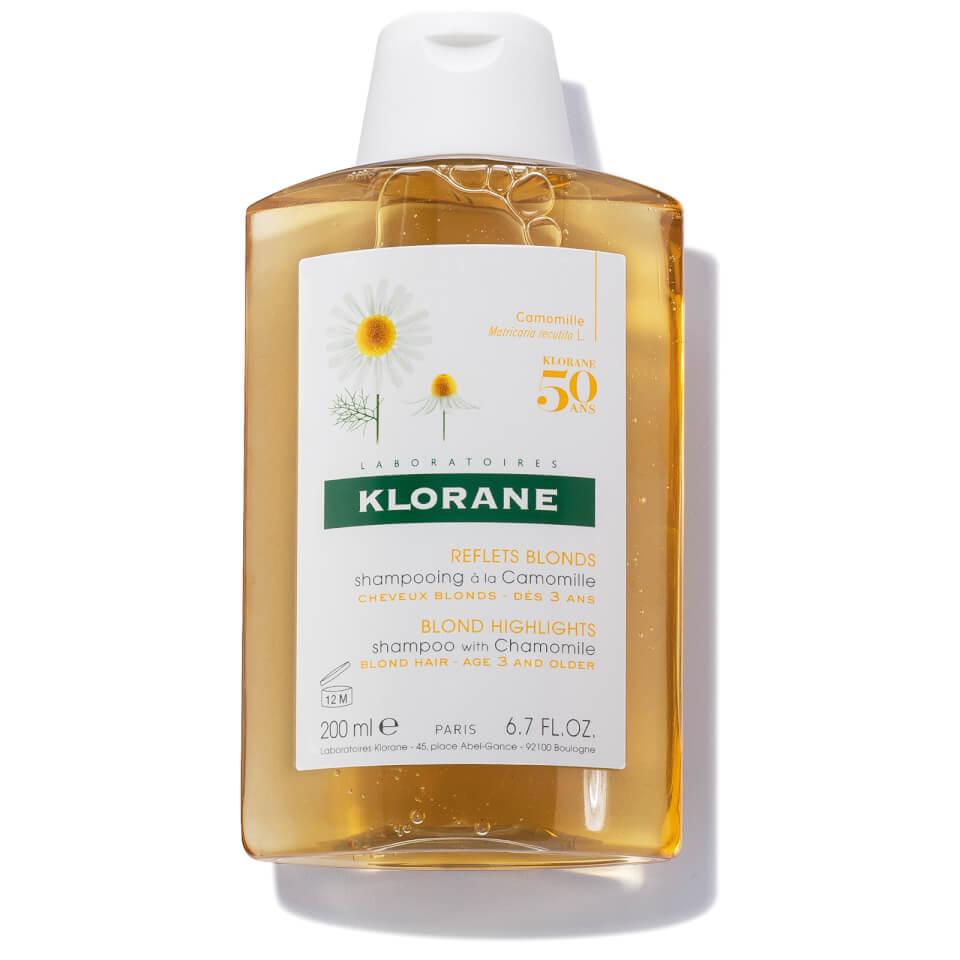 Klorane Shampoo Kamille Goudblonde Glans Fles 200ml Nieuwe Formule