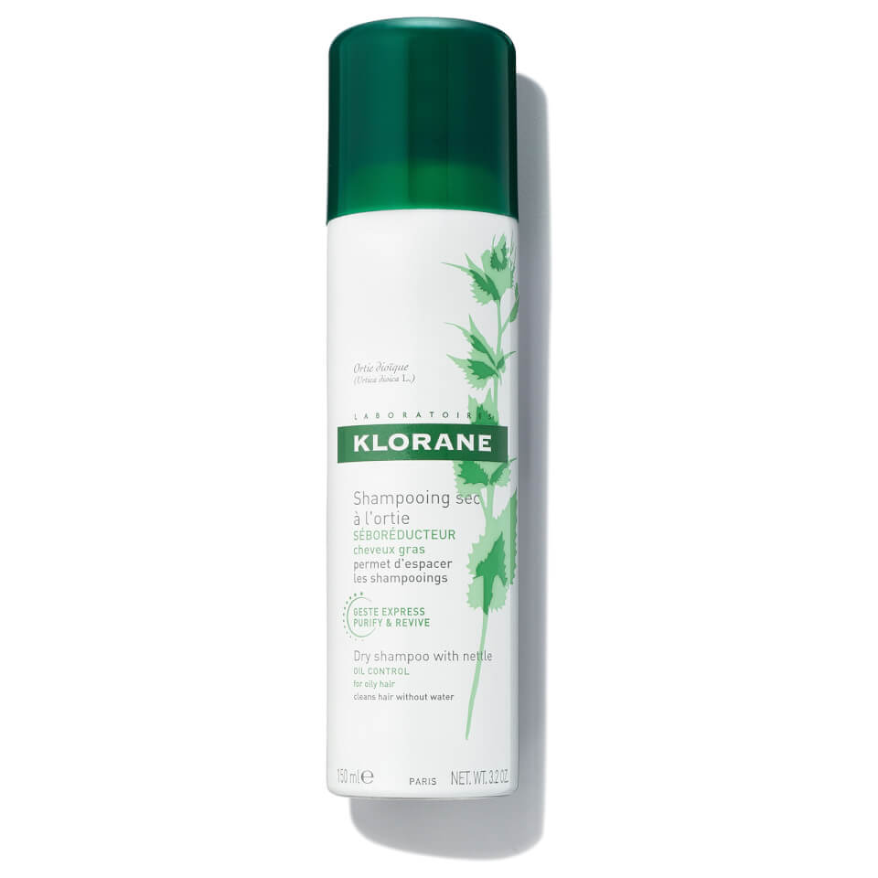 Klorane Droogshampoo Brandnetel Spray 150ml