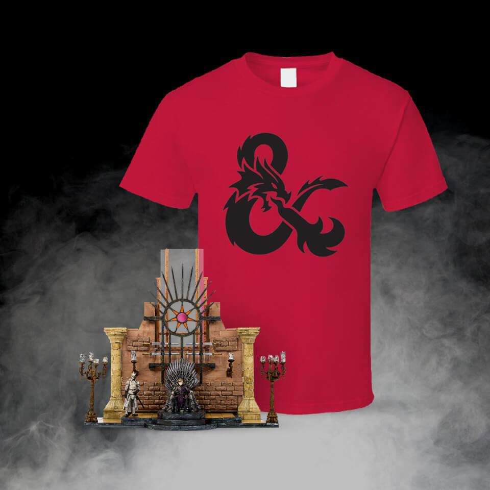 Game of Thrones Bauset und T Shirt Unisex XXL